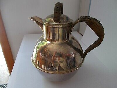 Antique silver plated water jug