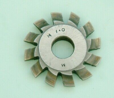 clock maker clock wheel pinion cutter M.1.0  gears  horologist clock maker