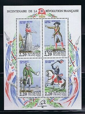 France - 1989 Sc. 2162, Notable Revolutionaries