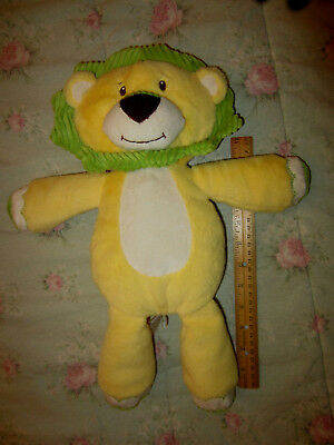 Target Baby Plush Toy Lion Sweet Sprouts Yellow Green Stuffed Animal Adventure