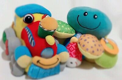 Baby You Lot Nubby Octopus Soft Play Train Plush Book