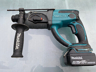 Makita  BHR202 18v SDS Hammerdrill + 5.0Ah Battery