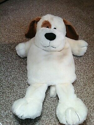 Soft, Plush, Teddy Dog Hot Water Bottle Cover. To fit Regular Size Hot Water...