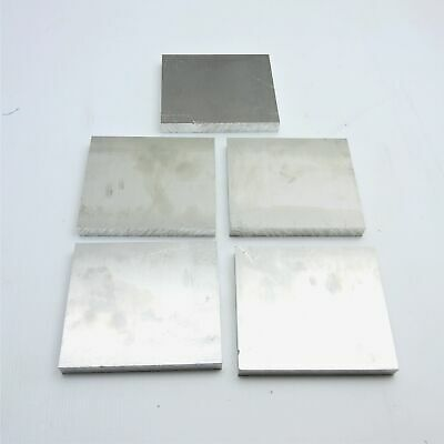 ".625"" thick  5/8  Aluminum 6061 PLATE  5.375"" x 5.875"" Long QTY 5  sku 176180"
