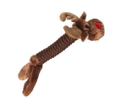 House of Paws Reindeer Rope Christmas Dog Toy 200 g