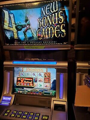 Williams Bluebird 2 Lord Of The Rings Xd Meta Screen 22/28 Wms Bb2 Slot Machine