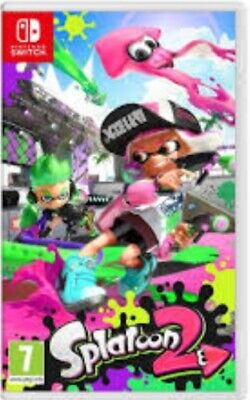Splatoon 2 - Nintendo Switch Game. Case and cartridge.