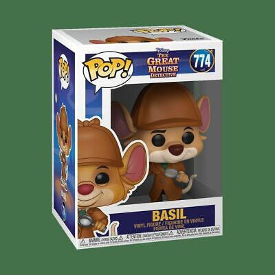 The Great Mouse Detective - Basil Pop! Vinyl-FUN47718-FUNKO