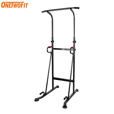 OTF Power Tower Tauchstation Pull Push Klimmzugstange Gym Fitness Core OT130
