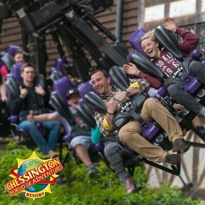 2 (two) Chessington world of adventures Tickets on Tuesday 9th June 2020
