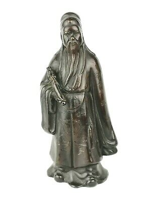 Chinese Qing dynasty bronze immortal