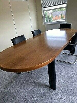 Large Boardroom or Dining room table. NO DELIVERY. BUYER COLLECTS