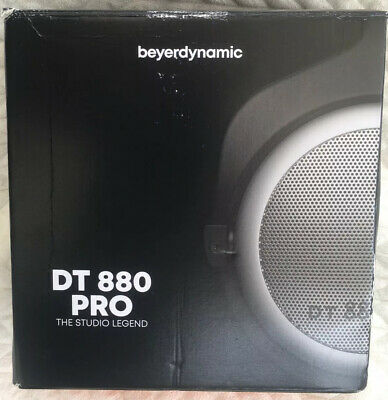 beyerdynamic DT 880 Pro 250 Ohm Semi-Open Studio Headphones for Mixing Mastering