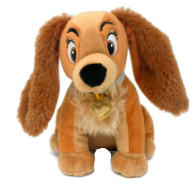 """Disney Lady Plush Dog Lady and the Tramp Cocker Spaniel Puppy Just Play 6"""""""