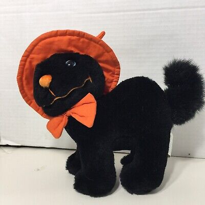 Sears Exclusive Halloween Plush Black Cat FRIDAY