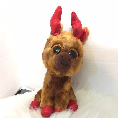 "Ty Beanie Boos - 6"" MAPLE the CANADIAN MOOSE Plush"