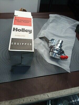 Holley 12-289-25 Billet Mechanical Fuel Pump NEW Sbf
