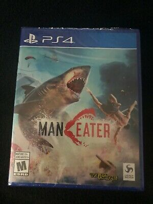 Maneater Ps4 Brand New Factory Sealed