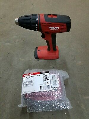 "Hilti SFC 18-A 1/2"" Cordless  Drill Driver with Battery.  NEW."
