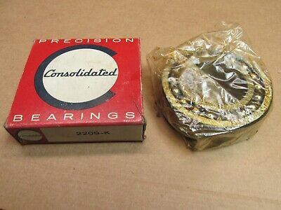 CONSOLIDATED FAG 2209K SELF ALIGNING BEARING 2209 K 45x85x23 mm