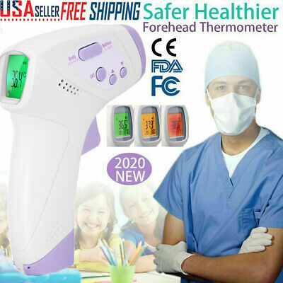 IR Infrared Digital Thermometer NonContact Forehead Baby&Adult Body Termometer