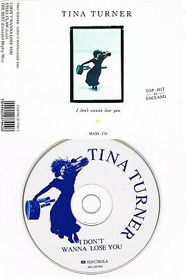 80`s MAXI CD – Tina Turner – I Don`t Wanna Lose You ( Picture CD; 3Tracks )