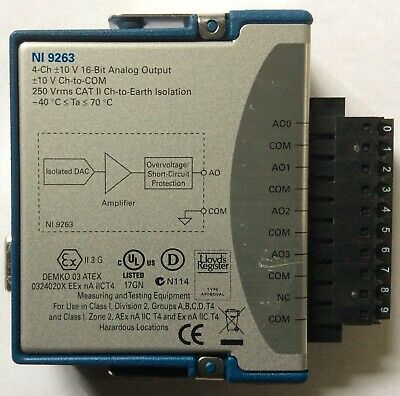 National Instruments NI 9263 4-channel Analog Output Module