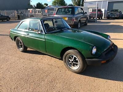 MGB GT,easy project ,runs and drives.