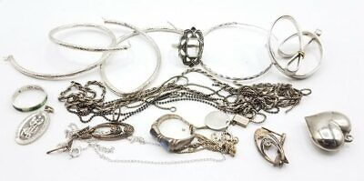 58.6g Marked or Tested 925 Silver Scrap Lot BT526