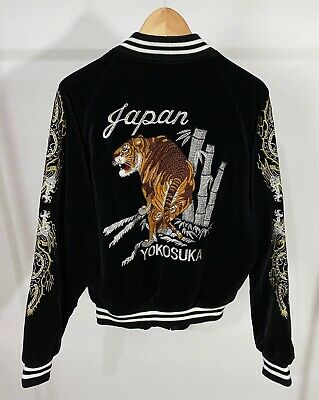 Japanese Sukajan Souvenir Jacket Bomber 502nd Joint Fighter Wing Brave Witches