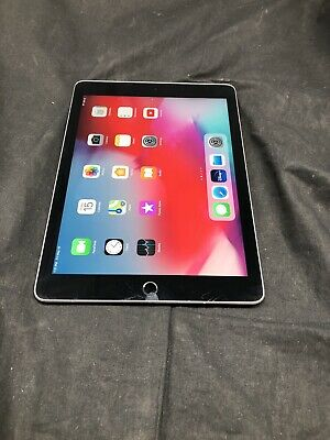 Apple iPad 6th Gen  MR7F2LL/A 9.7 inch 32GB Space Gray 1930