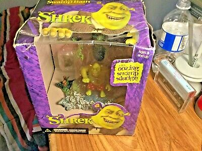Shrek the swamp bath- Sealed With Package Wear See Pics