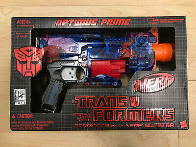 Transformers SDCC 2011 Barricade RV-10 Nerf Blaster