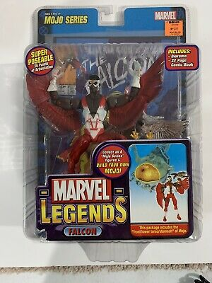 Marvel Legends Toy Biz Mojo Series Falcon Open Vest Variant Brand New