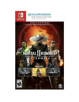 Mortal Kombat 11 Aftermath Nintendo Switch 2020 Digital Only