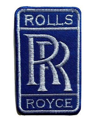 ROLLS ROYCE Car Iron On Patch Sew On Embroidered Patch T shirt Jacket Patch