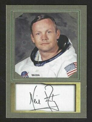 Neil Armstrong - Apollo 11 - First Man On The Moon - Aceo Autograph Card