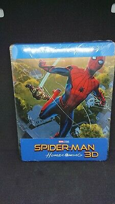 Spider-Man Homecoming Edition limitée Steelbook Blu-ray 3D + 2D