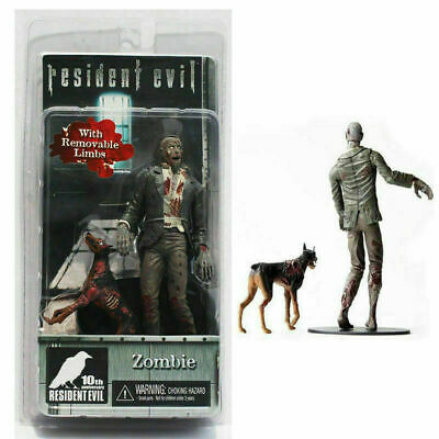 Resident Evil 10th Anniversary Biohazard Zombie and Dog Action Figure New in Box