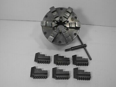 NEW ATLAS CRAFTSMAN LATHE 4 INCH 3 JAW SELF CENTERING CHUCK+KEY 1-10 MOUNT NEW