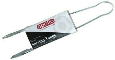 """9"""" Stainless Steel Multi Purpose Kitchen Food Salad Ice Serving Tong Tongs"""