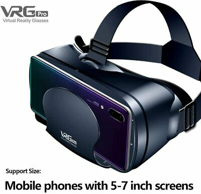 Vr Brille Kamle 3d Vr Headset Fur 3d Filme Und Spiele Video Movie Game Brille Eur 47 99 Picclick De