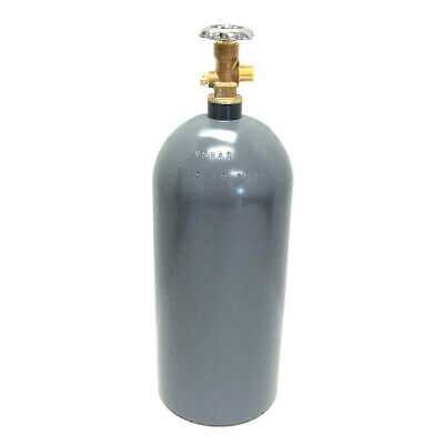 35 lb CO2 Cylinder New Aluminum CGA320 Valve Free Delivery! Fresh Hydro