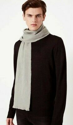 M/&S Mens Soft Touch Scarf Bnwt 'old School Scarf' Ref S22 Red Tones