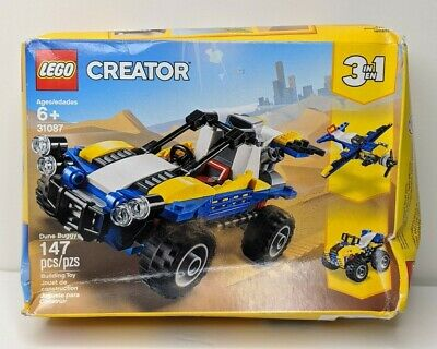 147 Pieces LEGO Creator 3in1 Dune Buggy 31087 Building Kit