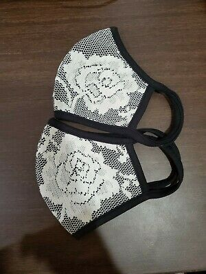 Face mask adult cotton Made In USA. PACK OF 2
