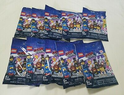 The LEGO Movie 2 Minifigures Blind Bag Lot of 5 Five New /& Sealed 71023 LEGO