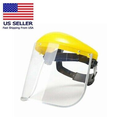 Head-mounted Protective Safety Full Face Eye Shield Screen Grinding Cover US