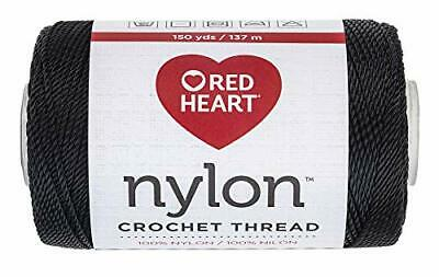 REd Heart fashion crochet thread 3 black and white choose one or get all