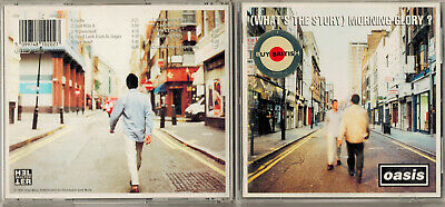 (What's the Story) Morning Glory? by Oasis (CD) 1995 Wonderwall